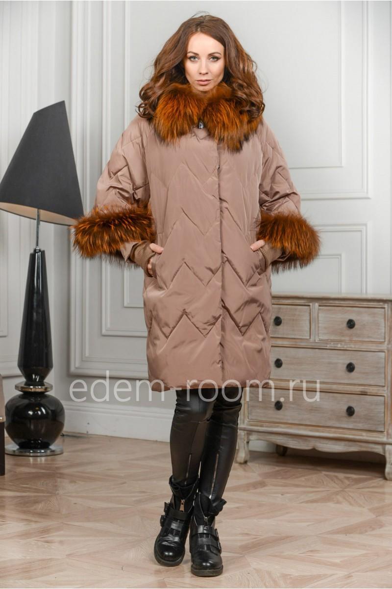 Пуховик - куртка с мехом