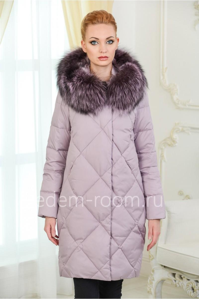 Зимний пуховик для женщин