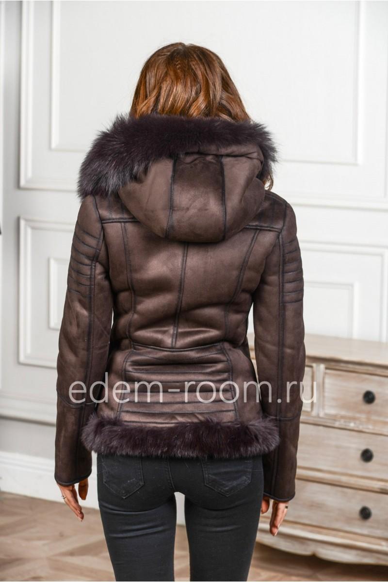 Не натуральная куртка - дублёнка