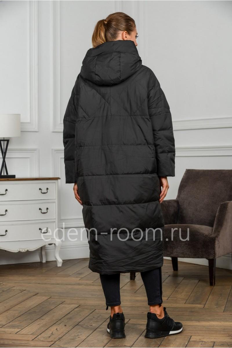 Зимнее пуховое пальто