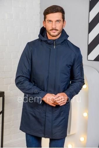 Демисезонная мужская куртка с капюшоном