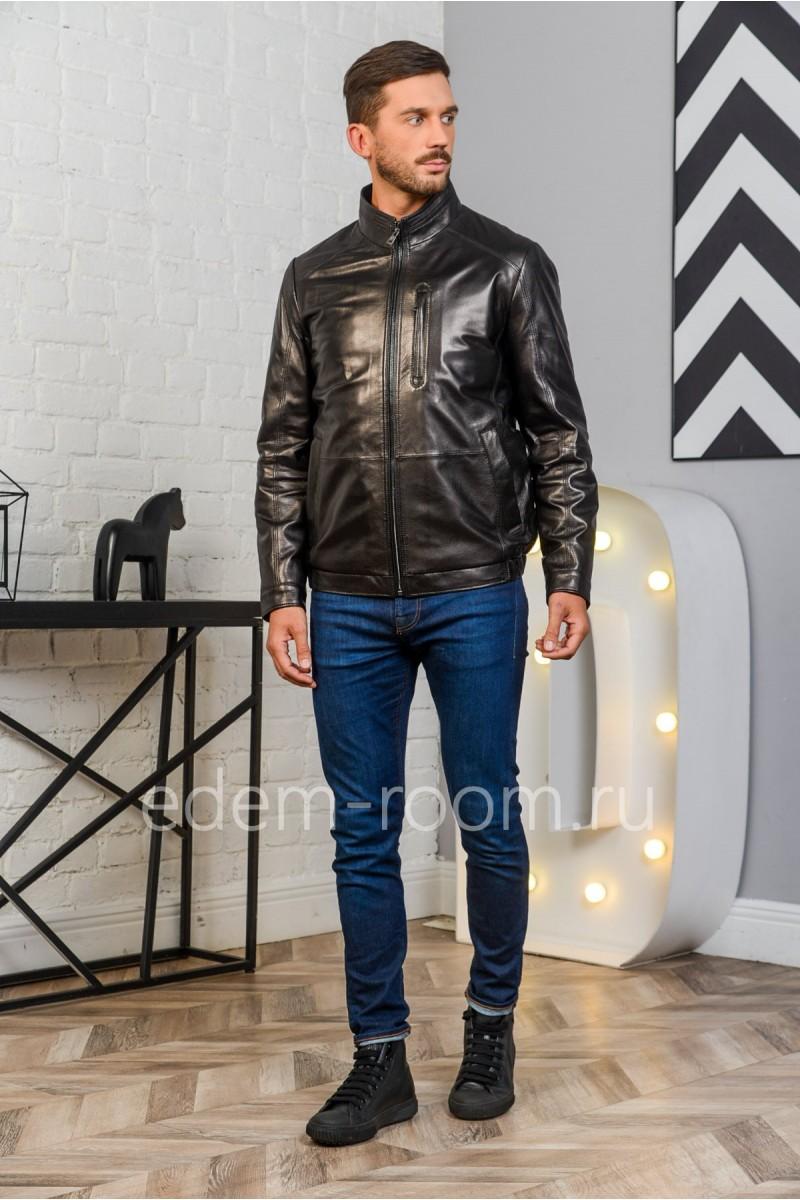 Классическая куртка для мужчин. Натуральная кожа.