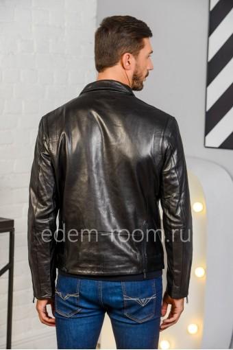 Куртка - косуха из натуральной кожи для мужчин. Дешево