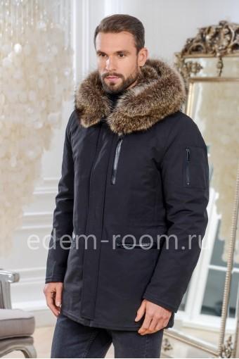 Зимняя куртка из ткани