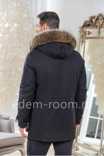 Тканевая зимняя куртка