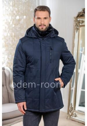 Синяя куртка для зимы