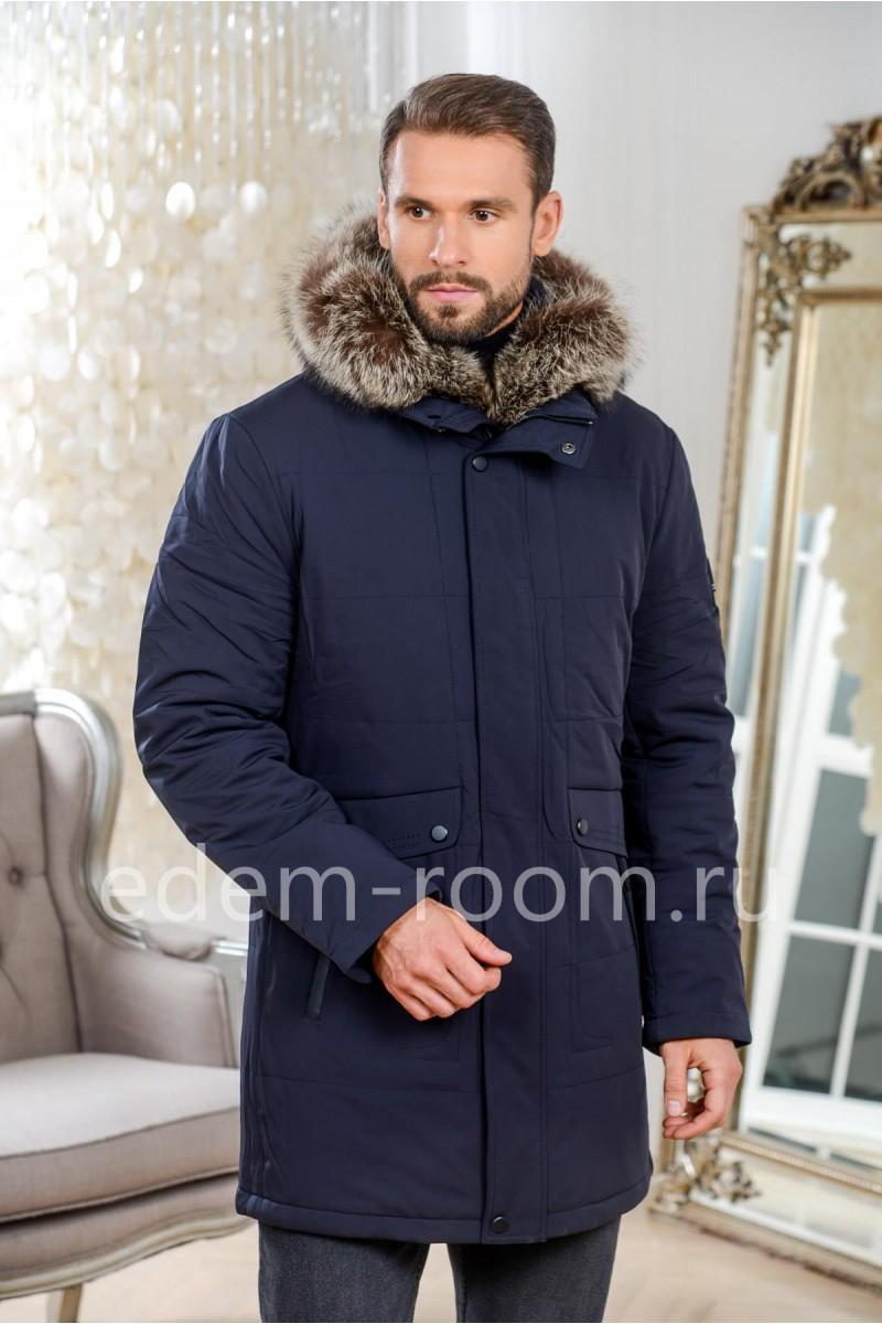 Тёплая мужская куртка