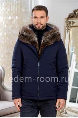 Мужская куртка из ткани