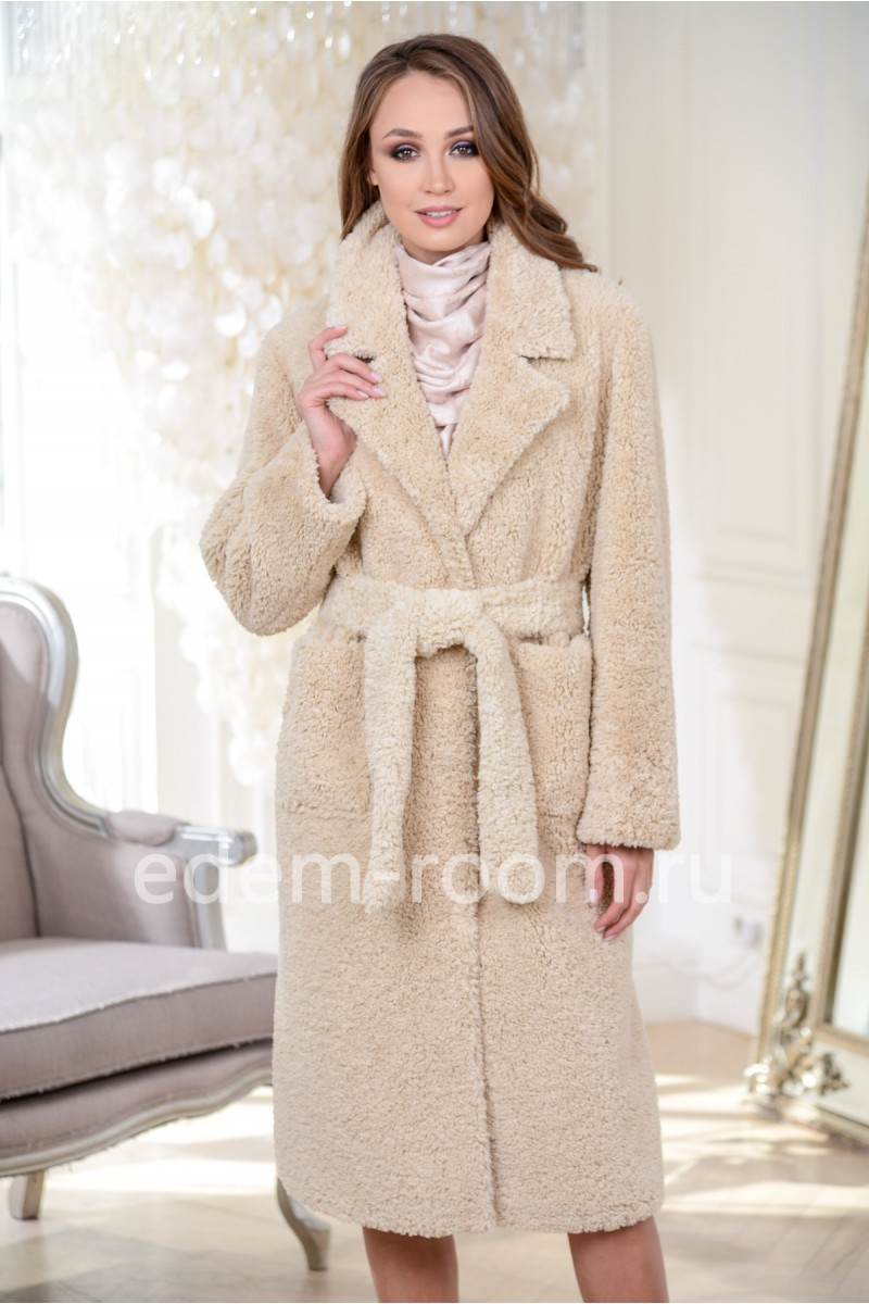 Шубка  - пальто из эко-меха