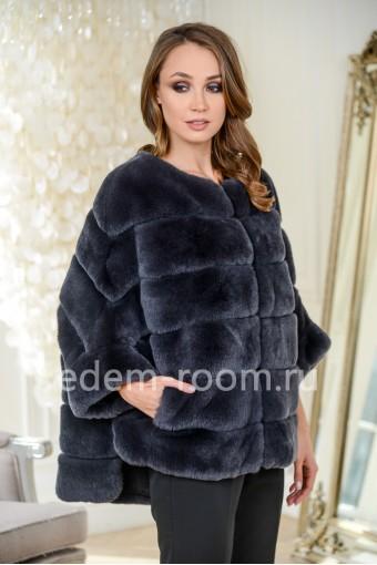 Кофта - куртка из кролика