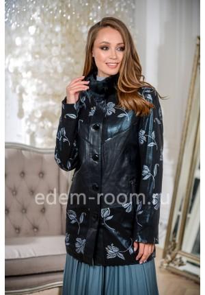 Демисезонная куртка из эко-замши