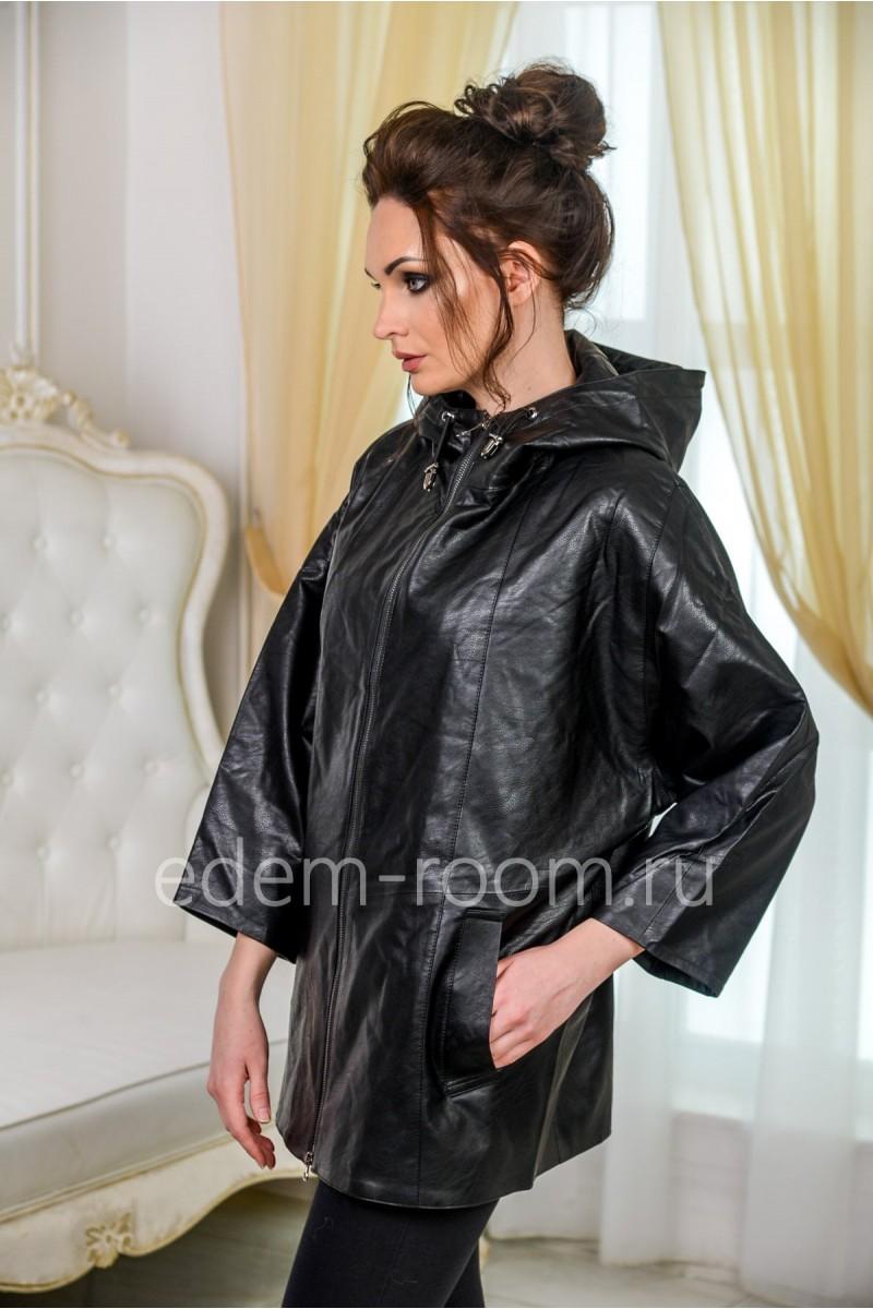Куртка из эко-кожи для женщин