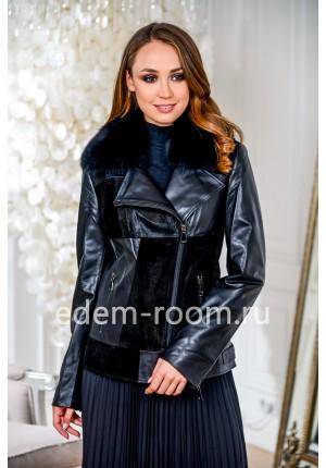 Демисезонные куртки из кожи