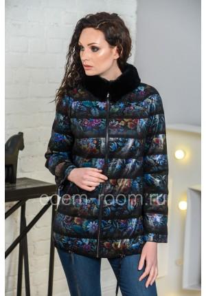 Куртка из искусственной замши для венсы