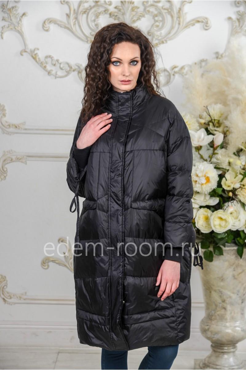 Утепленное пальто на межсезонье