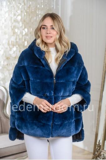 Кофта - куртка из меха кролика рекс