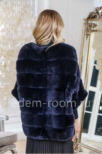 Кофта - куртка на молнии из кролика