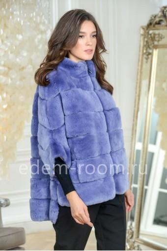 Куртка - автоледи меховая из кролика рекс