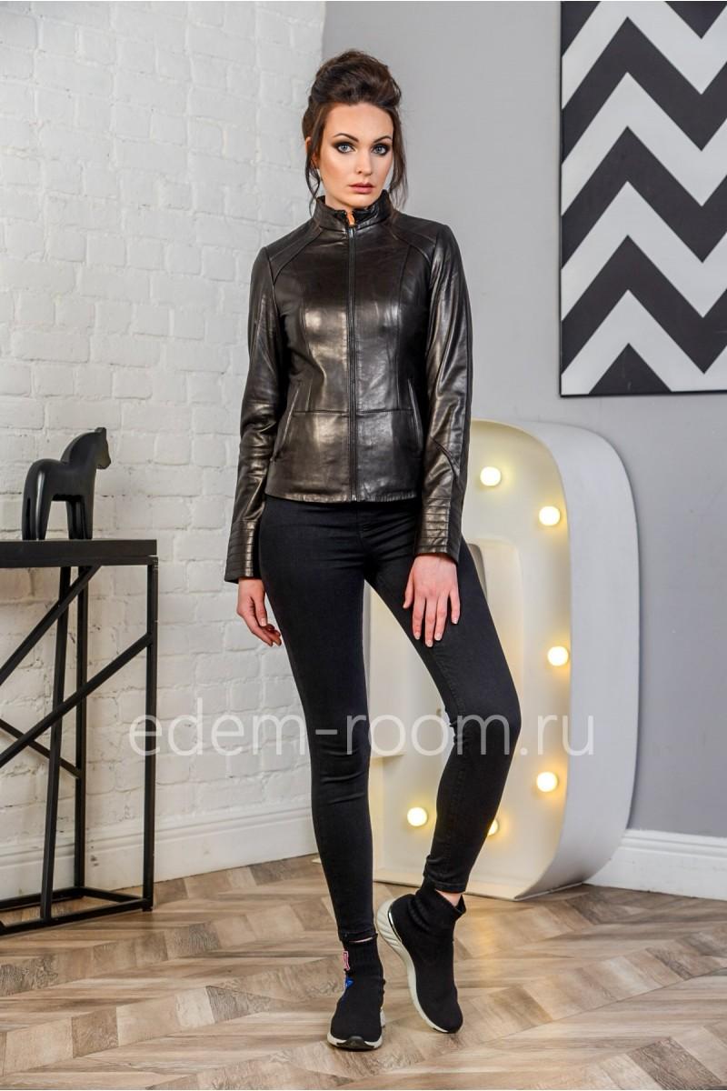 Женская кожаная куртка - 2019. Натуральная кожа