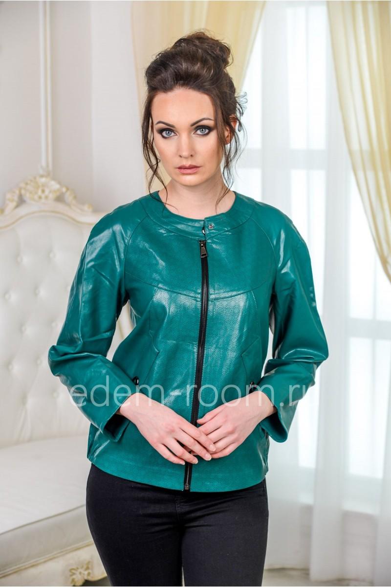 Куртка из экокожи - Весна 2019