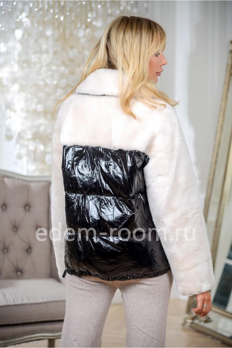 Куртка -  пуховик из шерсти