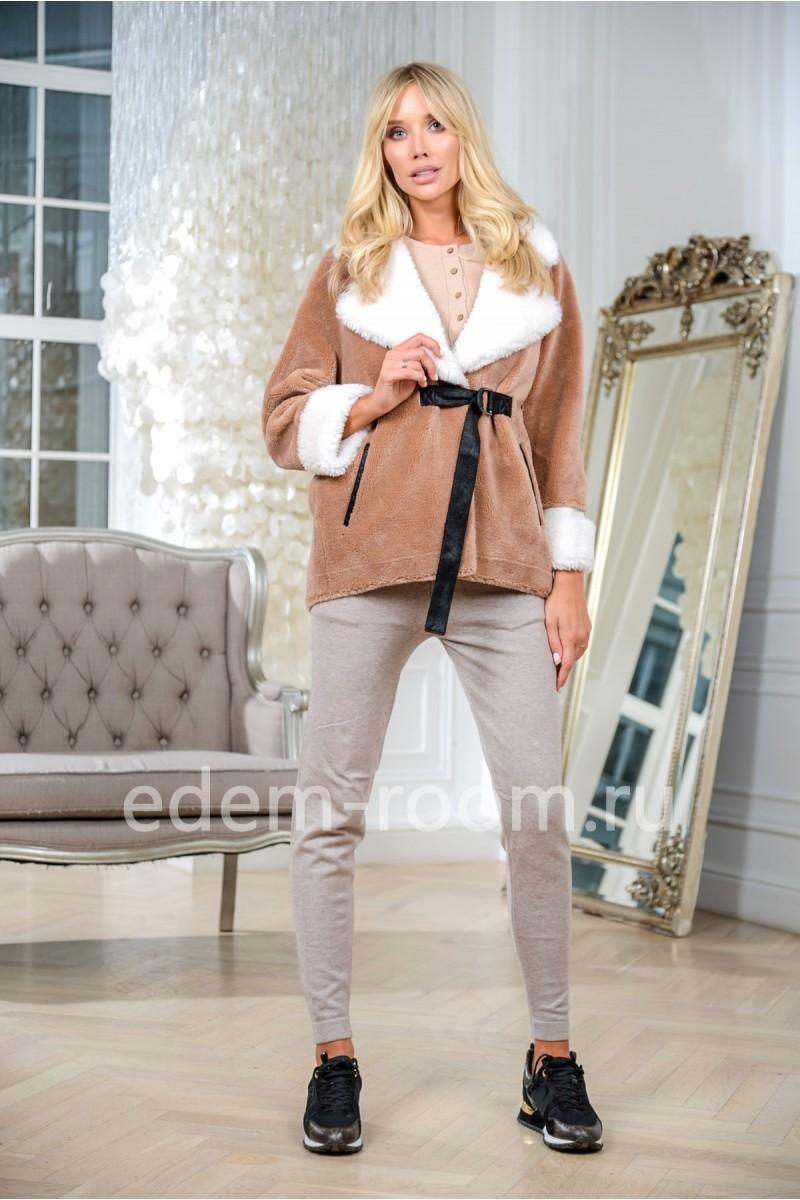 Куртка современная из шерсти