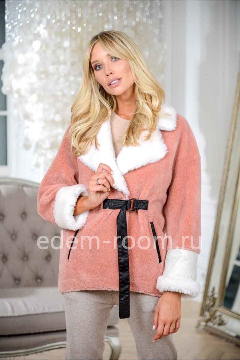 Тёплая куртка из шерсти