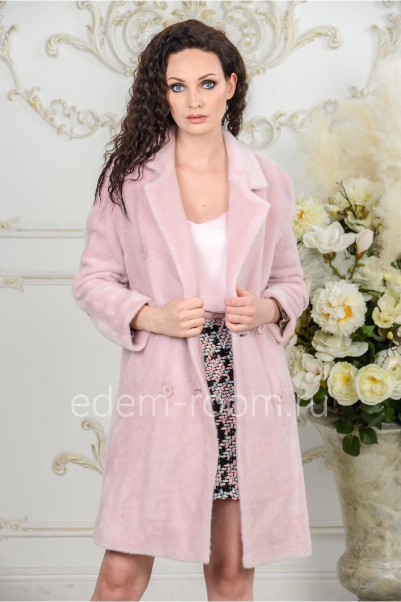 Весеннее пальто из шерсти