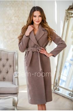 Кашемировое женское пальто