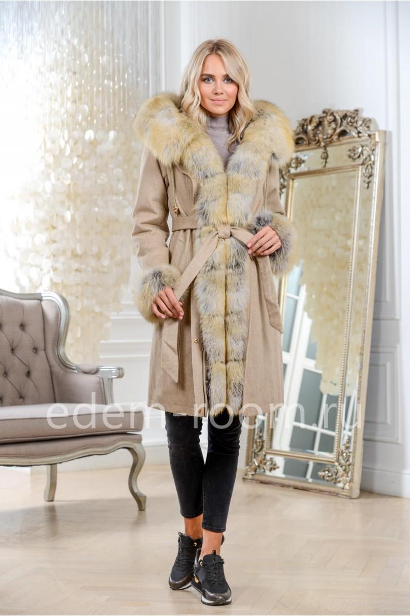 Зимняя парка - пальто