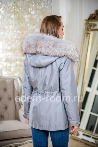 Парка - куртка на зиму - 2020 с меховым капюшоном
