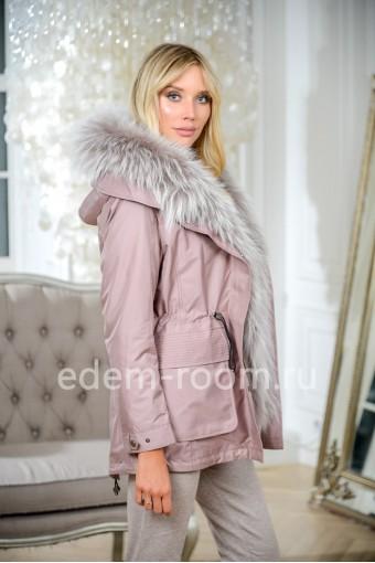 Молодежная зимняя парка-куртка