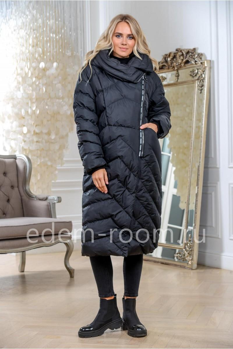 Пуховое пальто зимнее