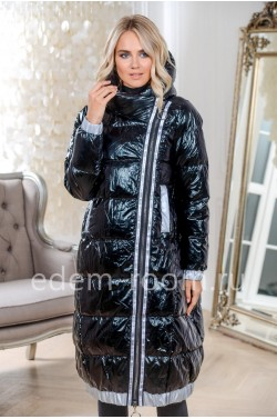Пуховое пальто для зимы