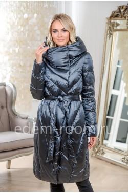 Женское пальто - пуховик