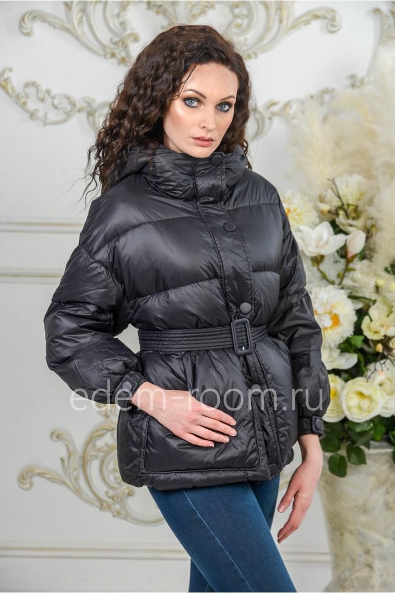 Куртка - пуховик с капюшоном