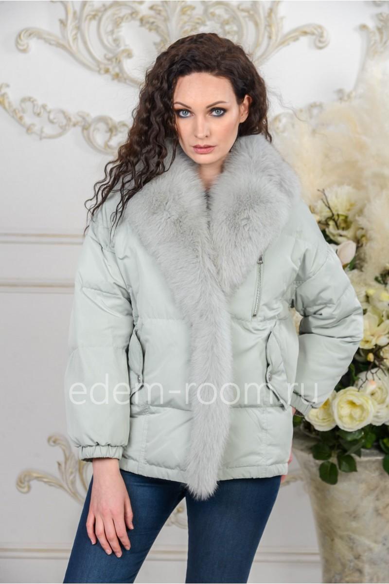 Женская куртка - пуховик