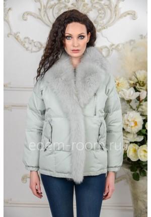 Женская куртка на эко-пухе