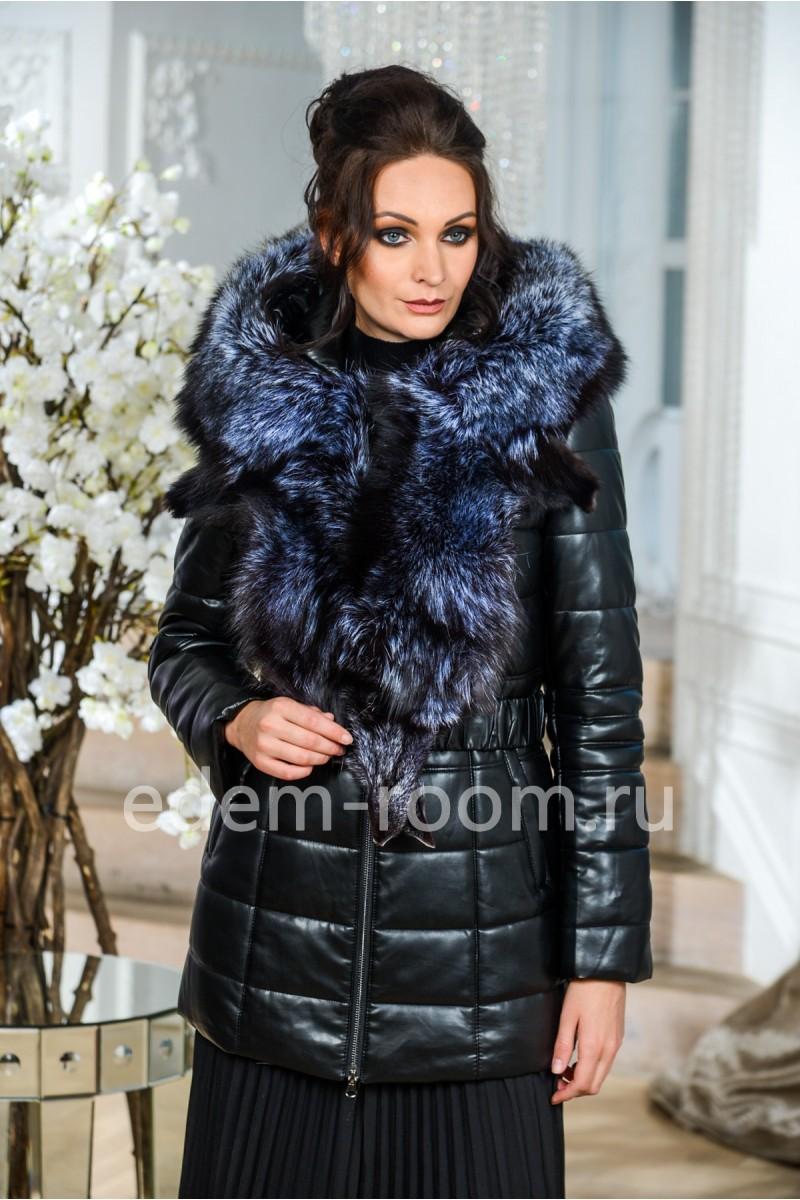 Куртка для зимы с большим мехом