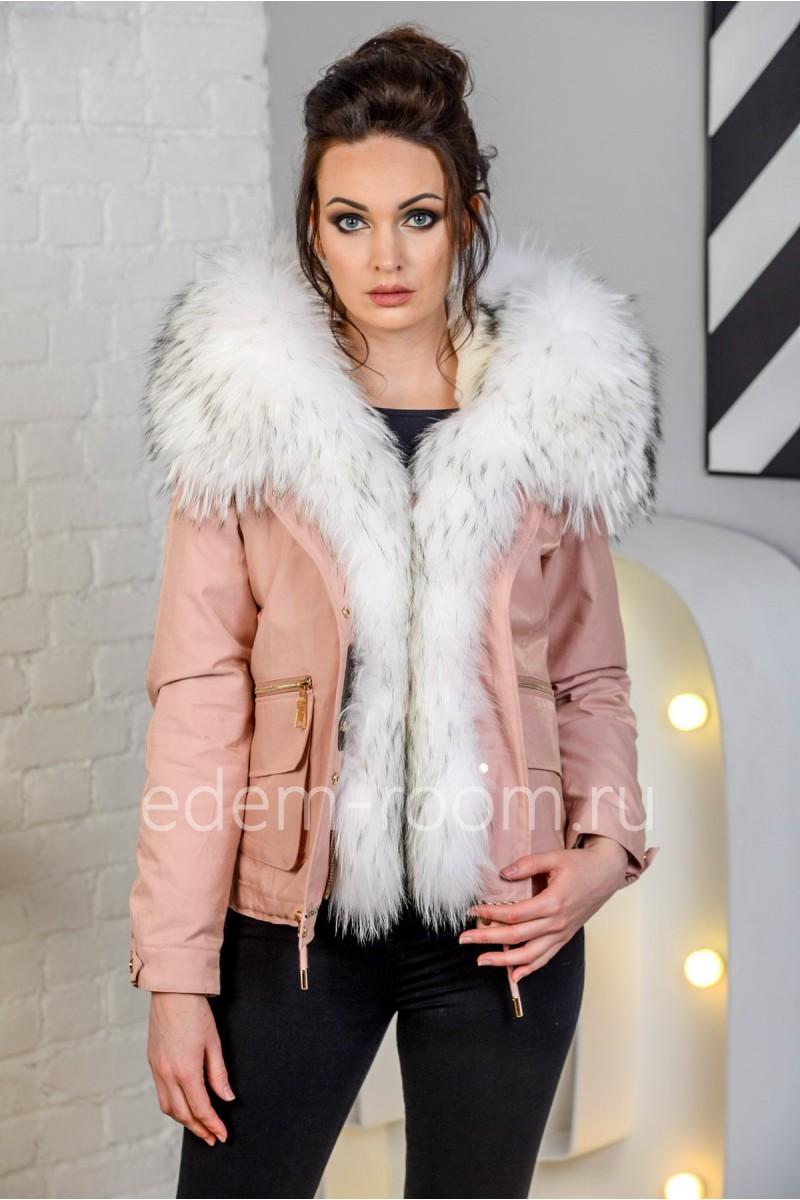 Укороченная зимняя куртка