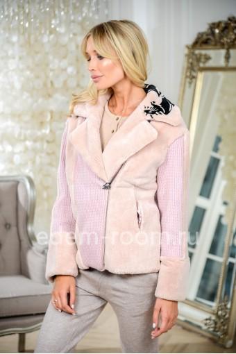 Куртка стильная из кролика