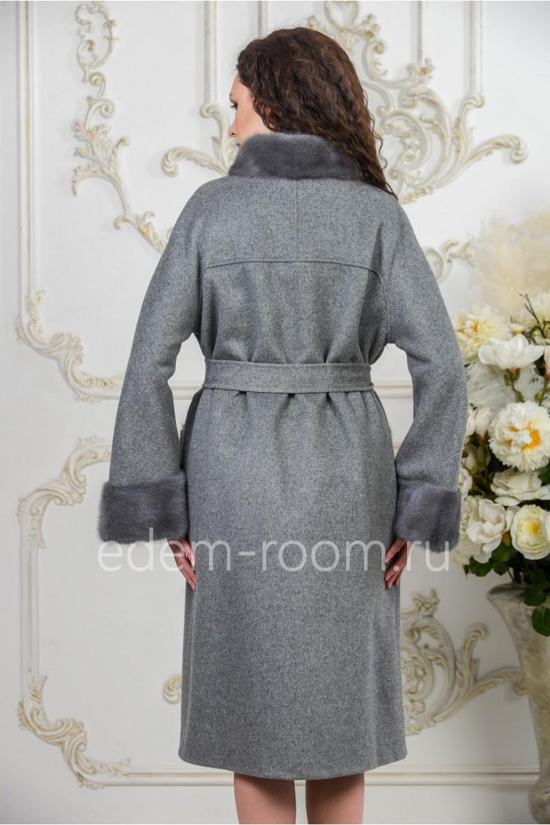 Зимнее пальто на большие размеры