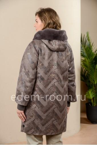 Утеплённая куртка на большие размеры