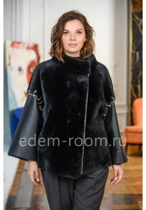Итальянская дублёнка - куртка из меха мериноса
