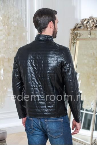 Осенне - весенняя куртка из эко-кожи