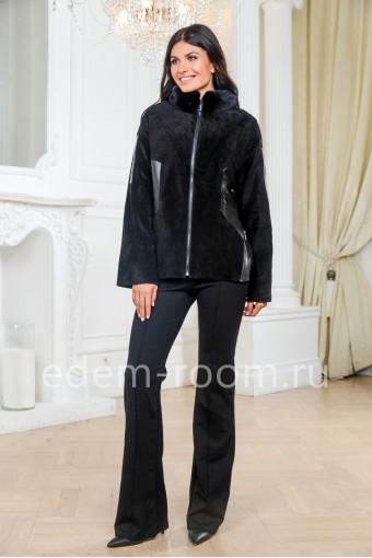 Куртка из замши для женщин