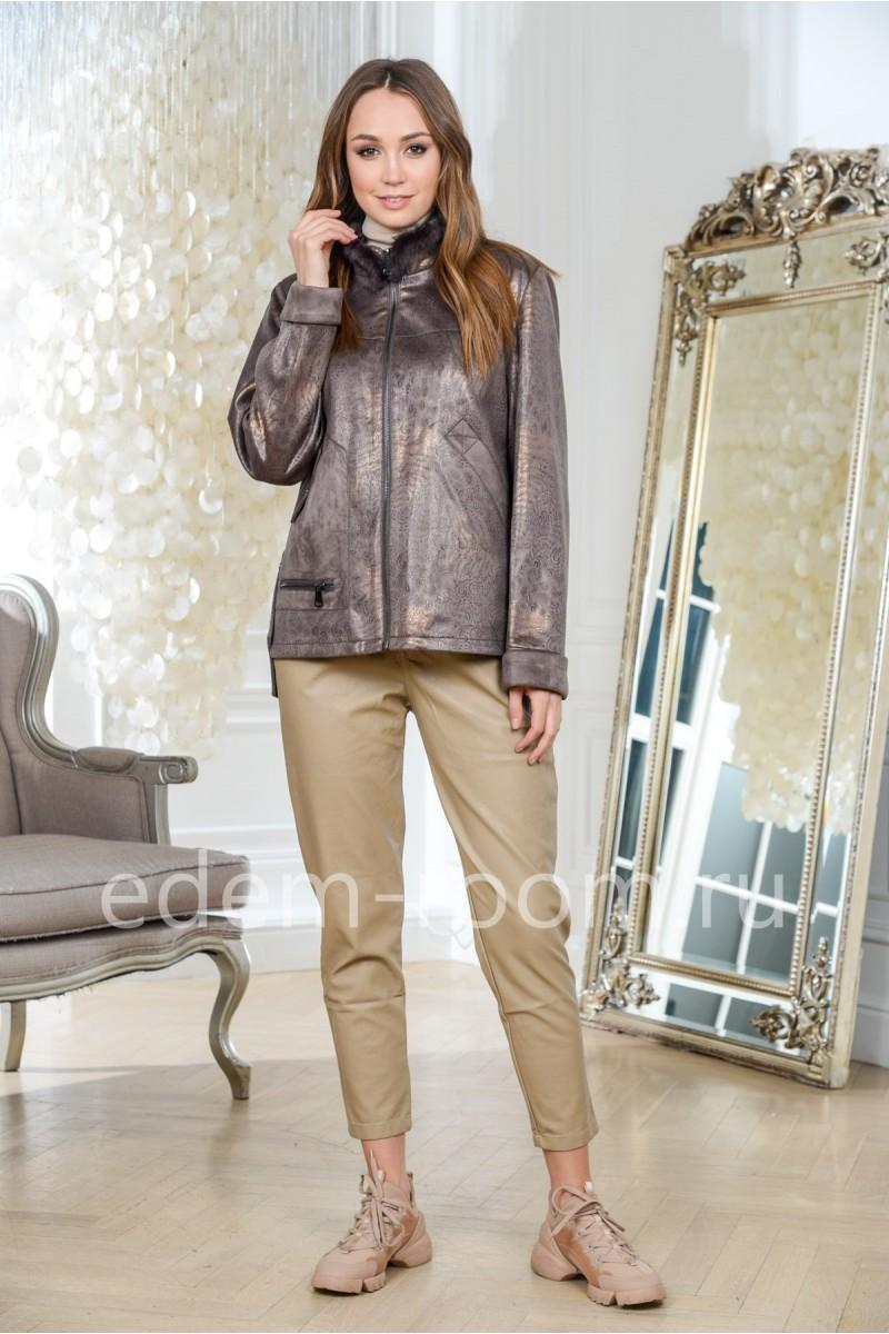 Демисезонные куртки иэ эко-кожи