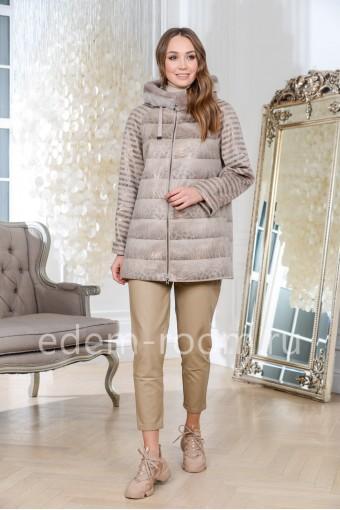 Женская куртка иэ эко-замши для весны