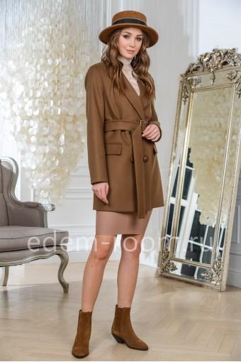 Пальто - пиджак из премиальной ткани