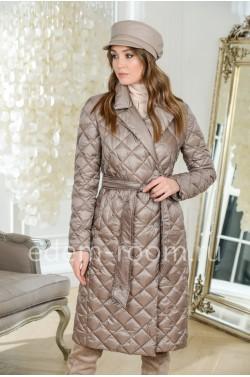 Утеплённый плащ - пальто для межсезонья